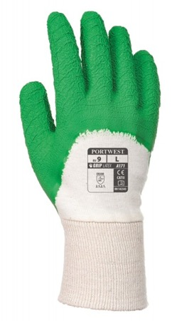 Rękawice robocze lateksowe A171 Portwest